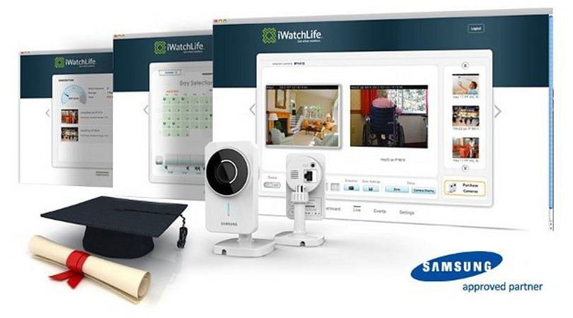 Samsung Techwin and iWatchLife partner on home monitoring camera systems