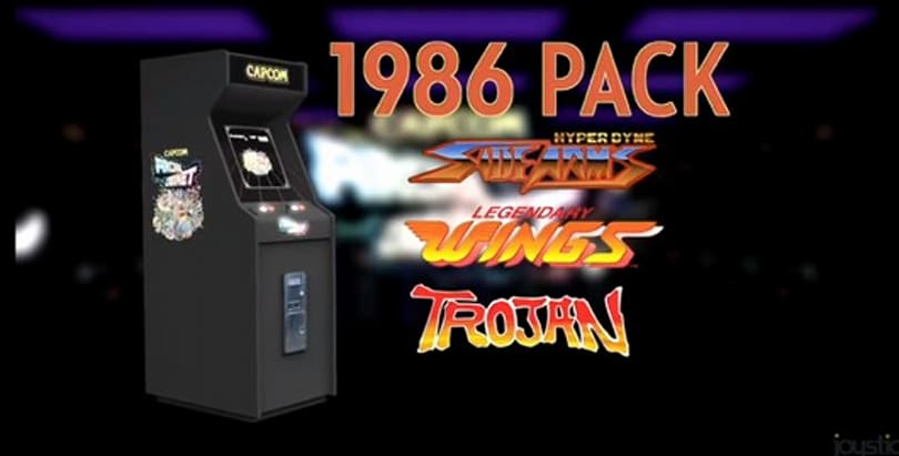 Capcom Arcade Cabinet offers 1986 trio this week