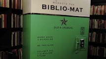 Meet the Bibliomat: a homemade vending machine for old books (video)