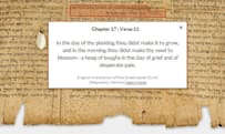 Google puts the Dead Sea Scrolls in the cloud, promises they won't dissolve when you touch them