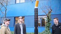 Fancy ash tray rewards smokers for not littering with a song and light show