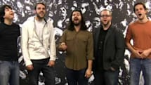 Harmonix employees harmonize during a cappella Paramore song performance