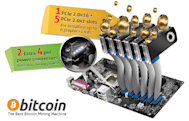 Bitcoin mining motherboards promise huge profits (for your energy provider)