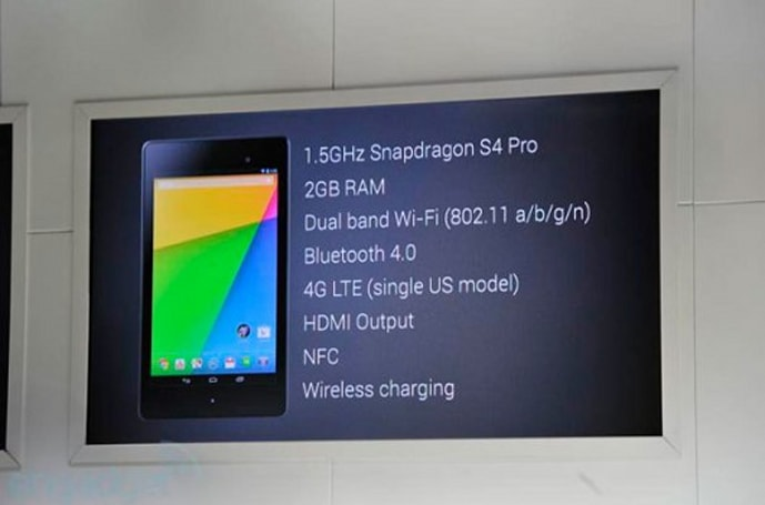 New Nexus 7 tablet coming July 30, carried by GameStop