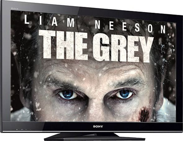 Engadget Giveaway: win a Sony 40-inch 1080p HDTV, courtesy of The Grey on Blu-ray and DVD