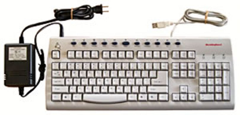 Heated keyboard keeps fingers toasty whilst typing
