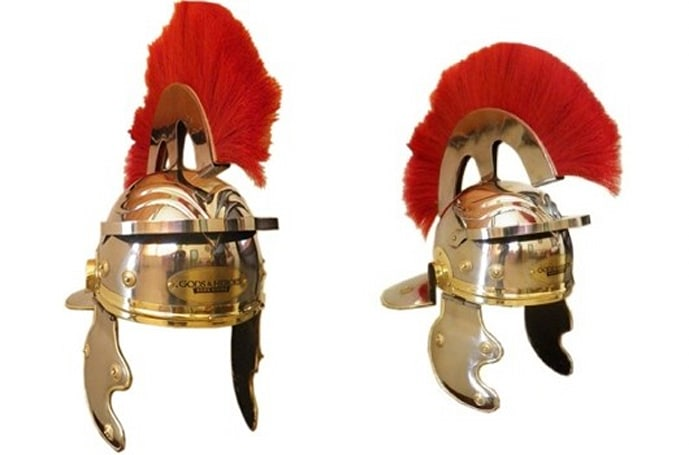 Gods & Heroes sells Centurion helmet on Amazon