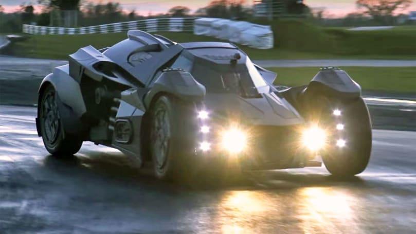 Gumball team creates Lamborghini-powered Batmobile