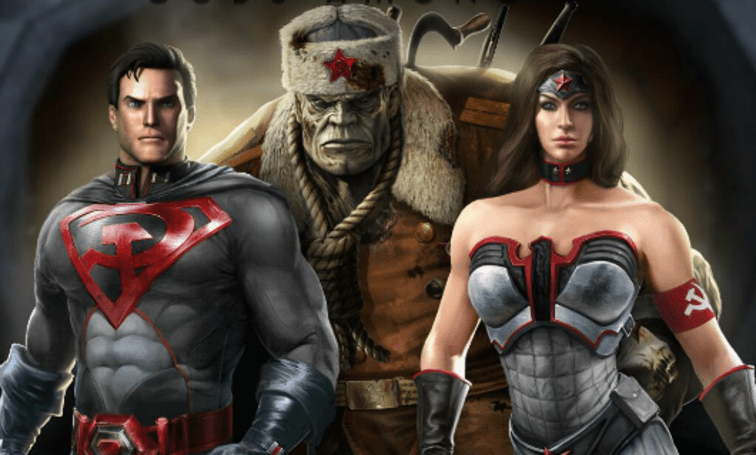 Injustice: Gods Among Us' Red Son pre-order DLC available to all next week