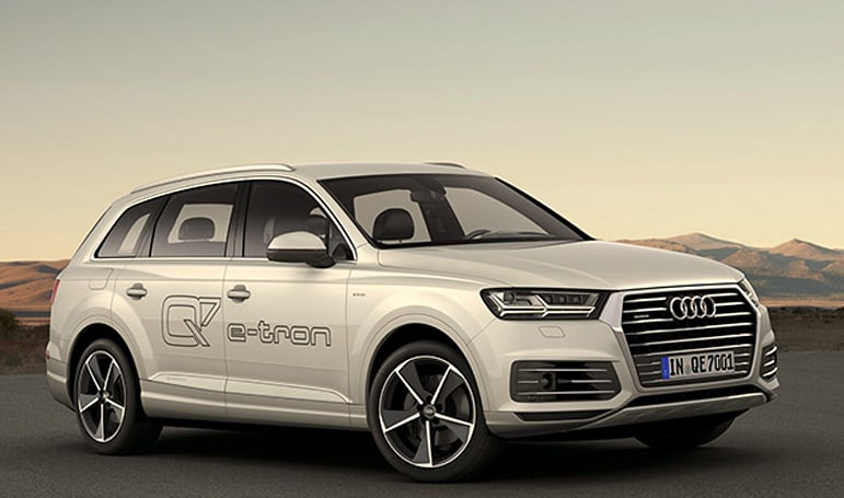 Audi's latest Q7 SUV and R8 sports car are powered by electricity