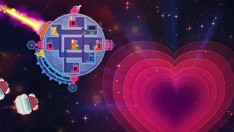 Love, space and lasers in a neon-infused Xbox One and Steam game