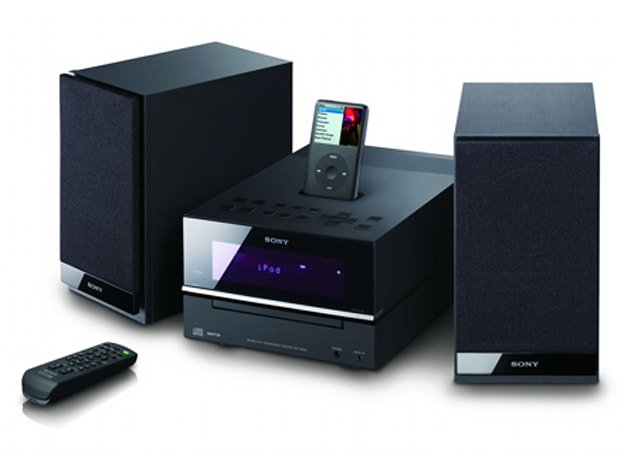 Sony's CMT-BX50i and CMT-BX20i iPod shelf systems complete Sony iPod lineup
