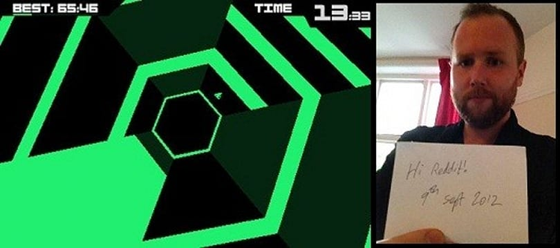 Super Hexagon sells 10K on iOS, ask Terry Cavanagh anything