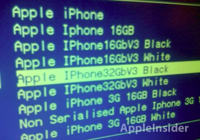 """iPhone V3"" placeholders pop up in Carphone Warehouse systems -- white model coming too?"