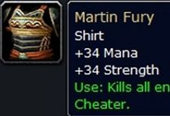 Martin Fury: What would you have done?