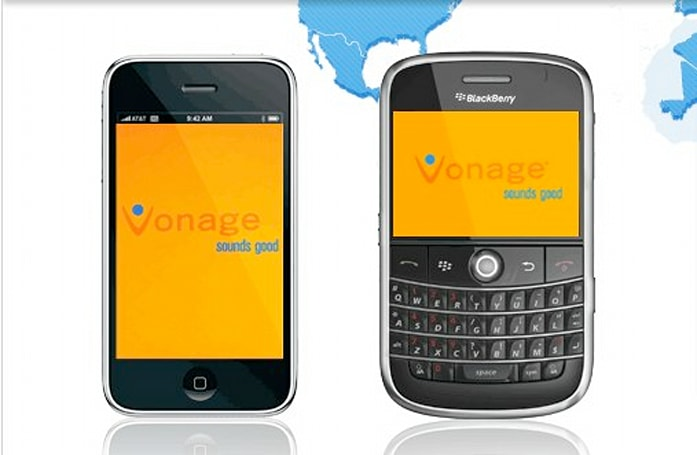 Vonage Mobile iPhone and BlackBerry apps available for download
