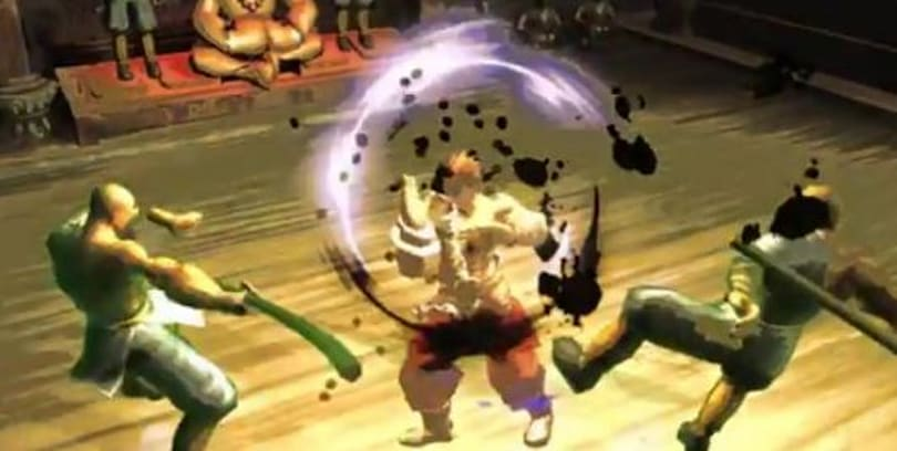 Kung Fu Strike is beat-em-up with a kick