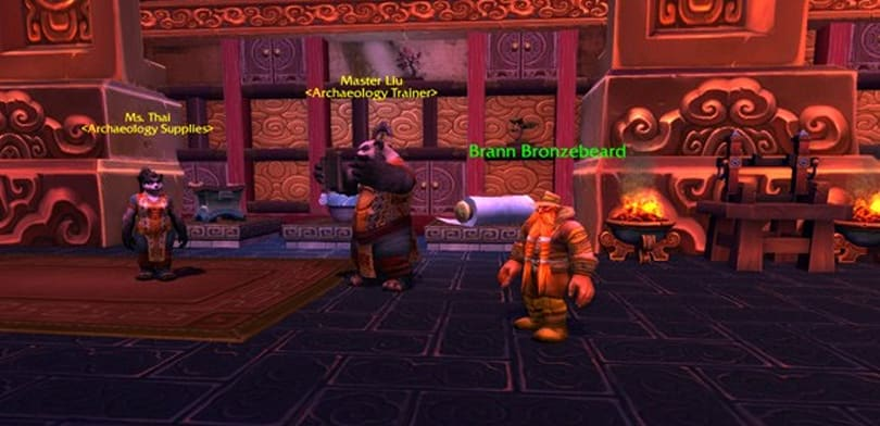 Mists of Pandaria Beta: The best Brann Bronzebeard appearance ever