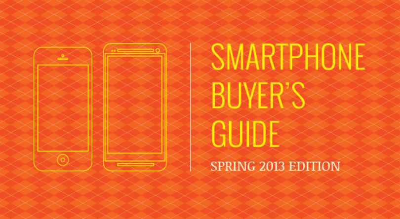 Engadget's smartphone buyer's guide: spring 2013 edition