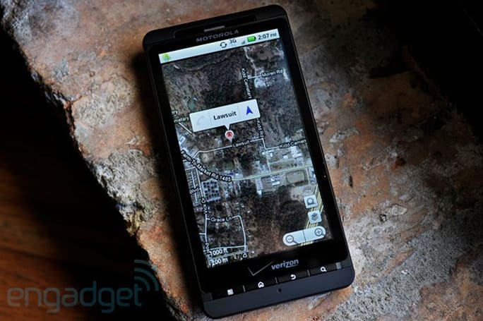 Skyhook: Google forced Motorola to drop our location service, delay the Droid X