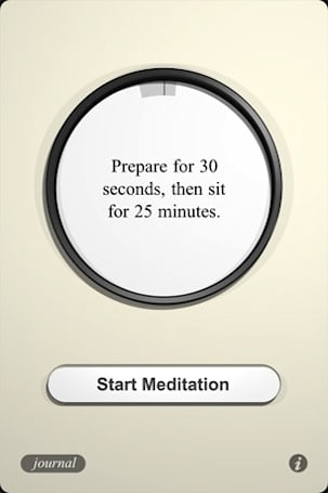Time and journal your meditations with Equanimity