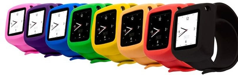 Griffin gets in the iPod nano watch game with colorful, protective Slap wristband