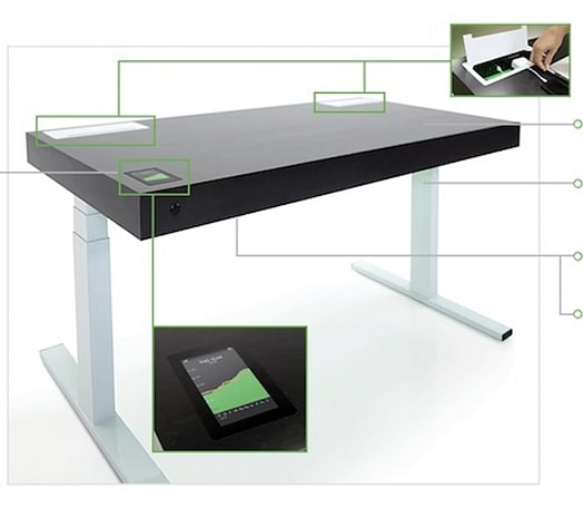 Former iPod engineer designs kinetic desk
