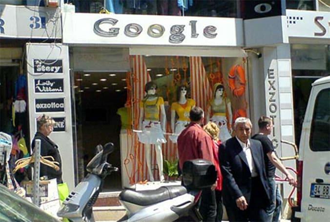 "Keepin' it real fake, part XLVII: ""Offline"" Google store"