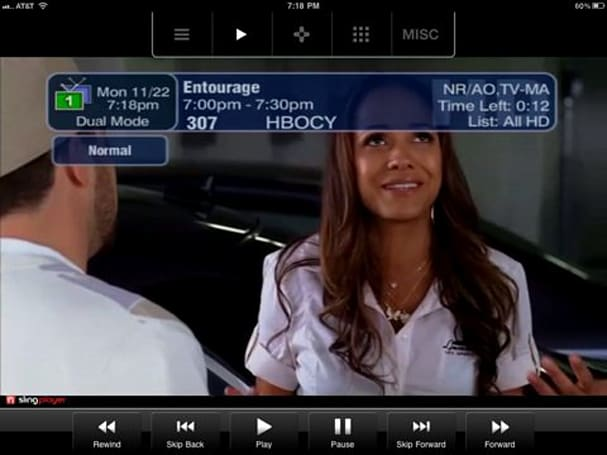 SlingPlayer Mobile for iPhone & iPad updated with video out support