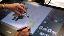 Dell 為藝術家打造一台 27 吋數位「畫板」