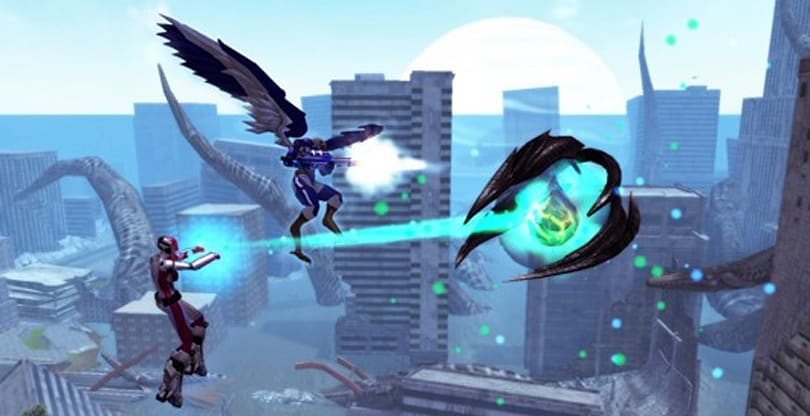 City of Heroes Freedom invaded by Hamidon again