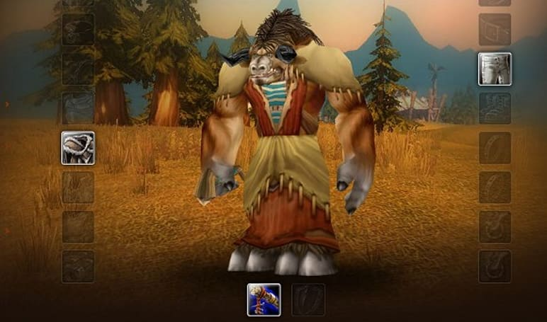 'Pacifist' Tauren Druid hits level 90