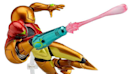 Samus and Link Figma figures articulating stateside this fall