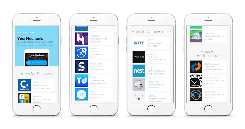Automatic launches an app store for cars