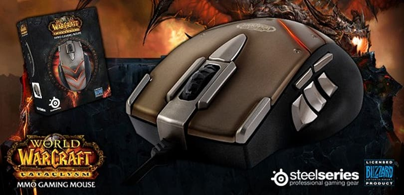 Steelseries announces Cataclysm MMO gaming mouse