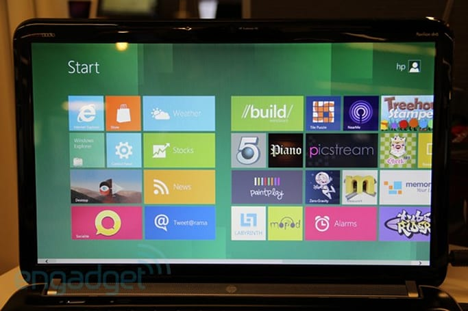 Windows 8 on a laptop in-depth preview (video)