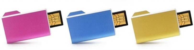 Art Lebedev's Folderix flash drives are obvious, awesome