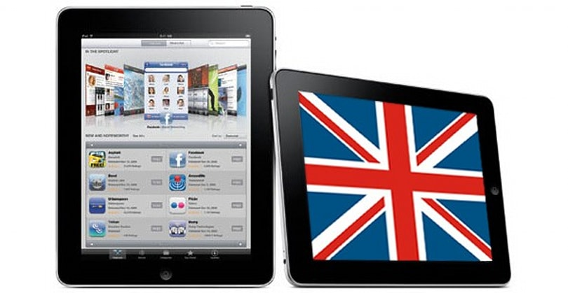 iPads arriving a day early in UK