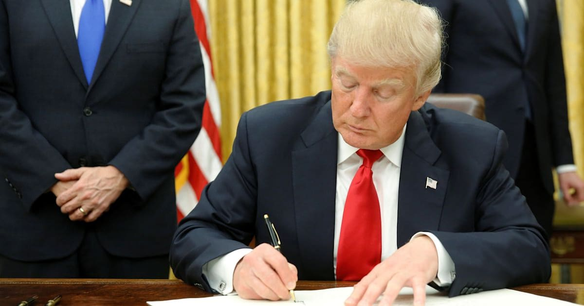 Trump Issues Order To Start Chipping Away At Obamacare