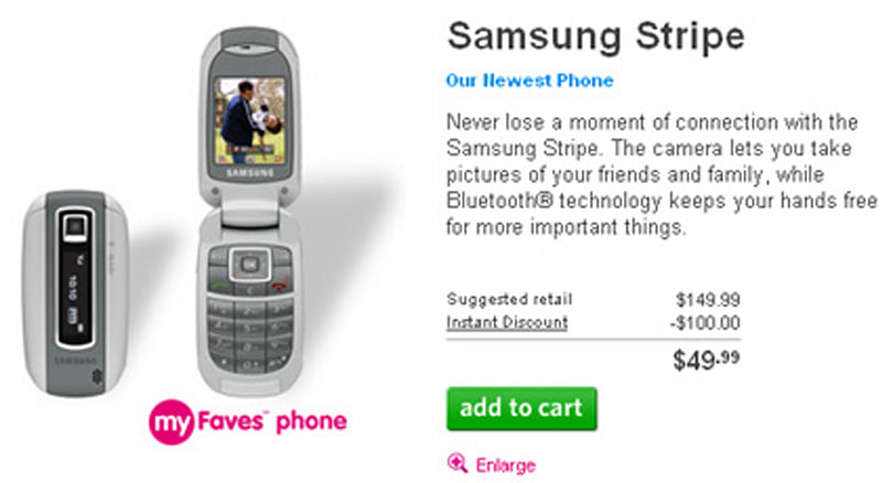 T-Mobile launches Samsung Stripe