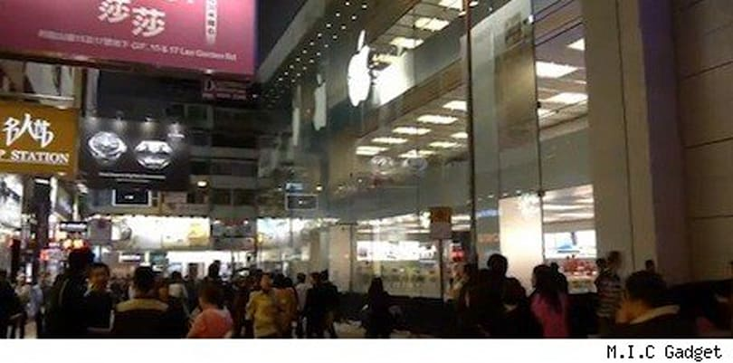 Look inside Apple's 3-story Hong Kong store