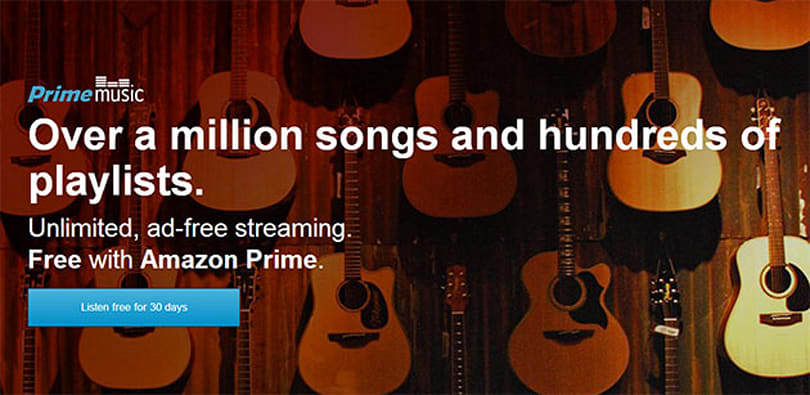 Amazon launches free streaming music service for Prime members