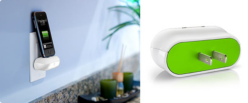 DLO WallDock iPhone charger shoots for minimalist practicality