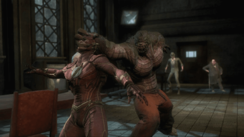 Injustice: Gods Among Us has a Killer Croc in its sewers