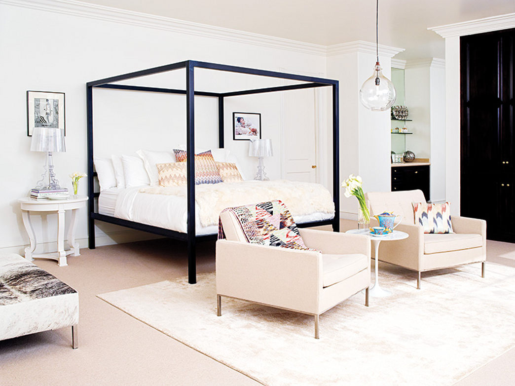 Glam decor ideas from Rachel Zoe's bedroom
