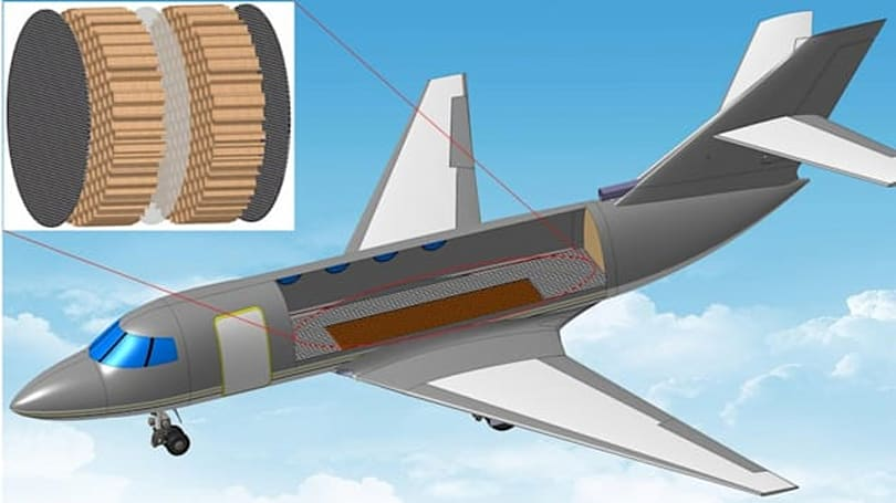Ultrathin membrane makes plane cabins 100x quieter