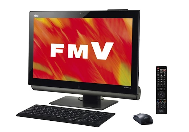 Fujitsu's Windows 8 range for Japan includes eyeball-controlled Esprimo FH98/JD all-in-one