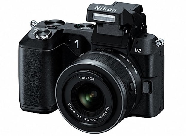 Nikon 1 V2 unveiled: 14.2 megapixel ILC shoots 15fps stills for $899.95 in November