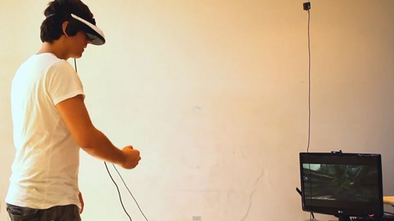 Kinect makes pact with head-mounted display, virtual reality Skyrim ensues