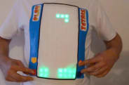 This playable Tetris T-shirt requires you to touch yourself
